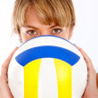 Volleyball player — Stock Photo #7701726