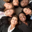Stock Photo: Multi-ethnic business group