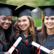 Graduation girls — Stock Photo #7701790