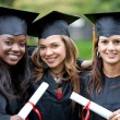 Graduation girls — Foto de Stock   #7701790