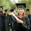 Female graduate — Stock Photo #7701816