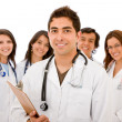 Doctors - isolated — Stock Photo #7701865