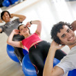 At the gym — Stock Photo #7701897