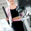 Royalty-Free Stock Photo: Beautiful gym woman