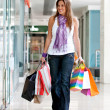 Woman with shopping bags — Stock Photo #7701921