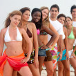Friends at the beach — Stock Photo #7702009