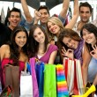 Friends shopping — Stock Photo #7703200