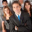 Group of business — Stock Photo #7703260