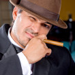 Cigar guy — Stock Photo