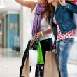 Shopping women — Stock Photo