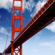 Golden gate — Stock Photo #7703516