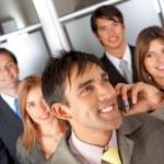 Businessman on the phone — Stock Photo #7703544