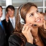 Customer services representative — Stock Photo #7703551