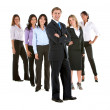 Stock Photo: Business group