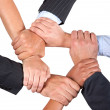 Togetherness - Business - Stock Photo