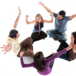 Excited friends — Stock Photo #7703722