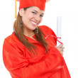 Royalty-Free Stock Photo: Graduation woman portrait
