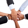Business team work - Stock Photo