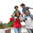 Family having fun — Stock Photo #7703971