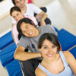 Gym smiling — Stock Photo #7704028