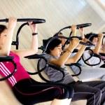 Abdominal exercises — Stock Photo #7704119