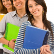 Group of students — Stock Photo #7704143