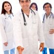 Doctors - isolated — Stock Photo #7704161