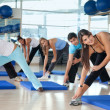 Aerobics class in a gym — Stock Photo #7704163