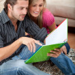 Couple studying — Stock Photo #7704192