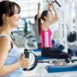 Woman at the gym — Stock Photo #7704229