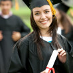 Graduation portrait — Stock Photo #7704252