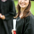 Female graduate — Stock Photo #7704254