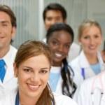 Medical teamwork — Stock Photo