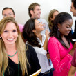 Royalty-Free Stock Photo: Multi-ethnic group of students