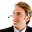 Customer service representative — Stock Photo #7704374