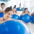 Gym class — Stock Photo