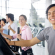 Group at the gym — Stock Photo