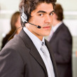 Stock Photo: Customer services