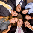 Foto Stock: Multi-ethnic business group