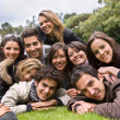 Happy group of — Stock Photo #7704673