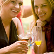 Royalty-Free Stock Photo: Girl friends at a party