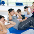 Workout group — Stock Photo #7704845