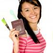 Girl going on vacation — Stock Photo #7704947