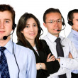 Business customer service team — Stock Photo