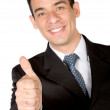 Business m- thumbs up — Stock Photo #7705072