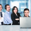 Business call center — Stock Photo