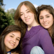 Beautiful female friends — Stock Photo #7705108