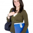 Beautiful student — Stock Photo #7705133