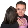 Couple hug - Stock Photo