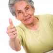 Stock Photo: Friendly positive woman